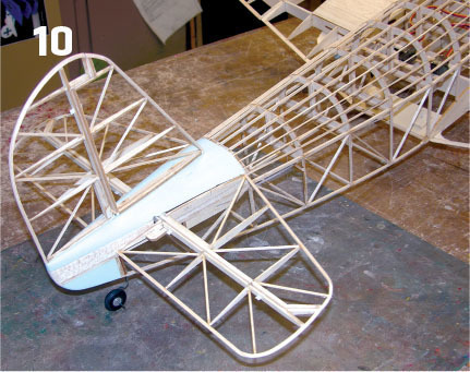 the tail fairing blocks are carved