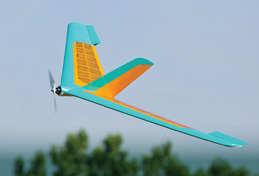 1951 flying wing is a graceful