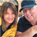 brian houston and his wife bobbie
