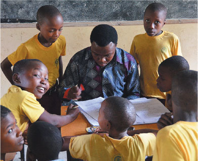 tanzania who will be the recipients of the mobile classroom